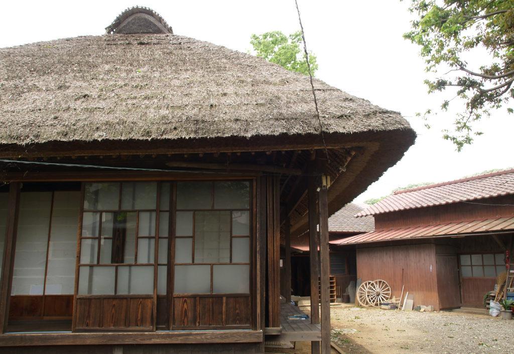 三鷹 野川の水車農家・しんぐるま 峰岸家の母屋