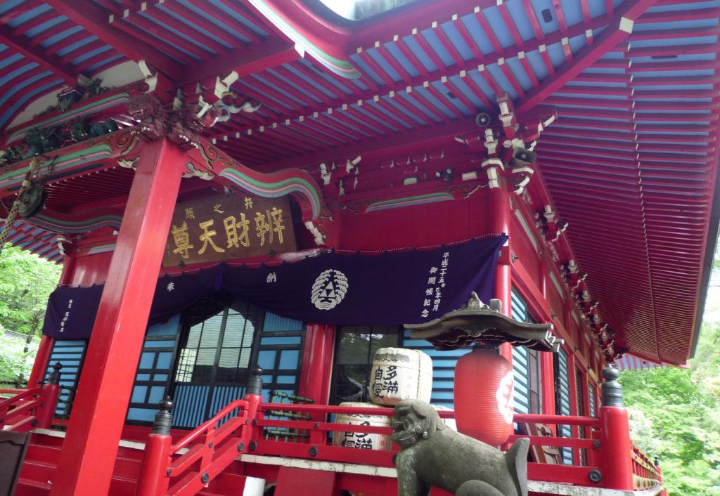 三鷹 井の頭弁財天 本堂