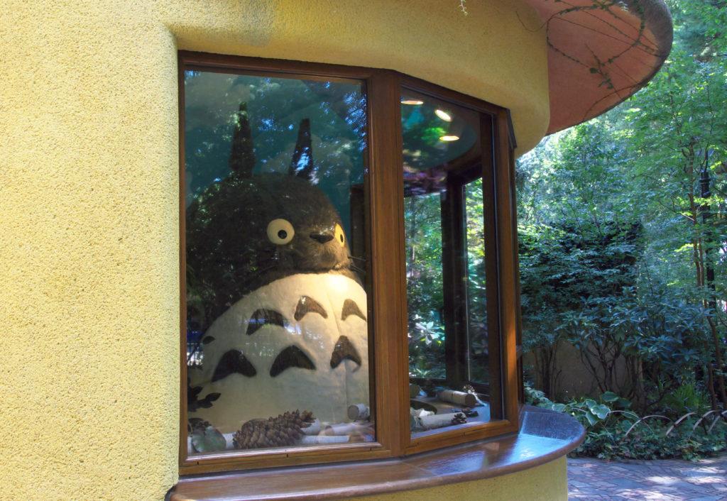 三鷹の森ジブリ美術館 入口付近のトトロの部屋 mitaka ghibli