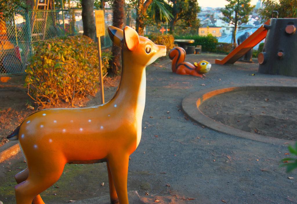 三鷹 大沢みはらし児童公園