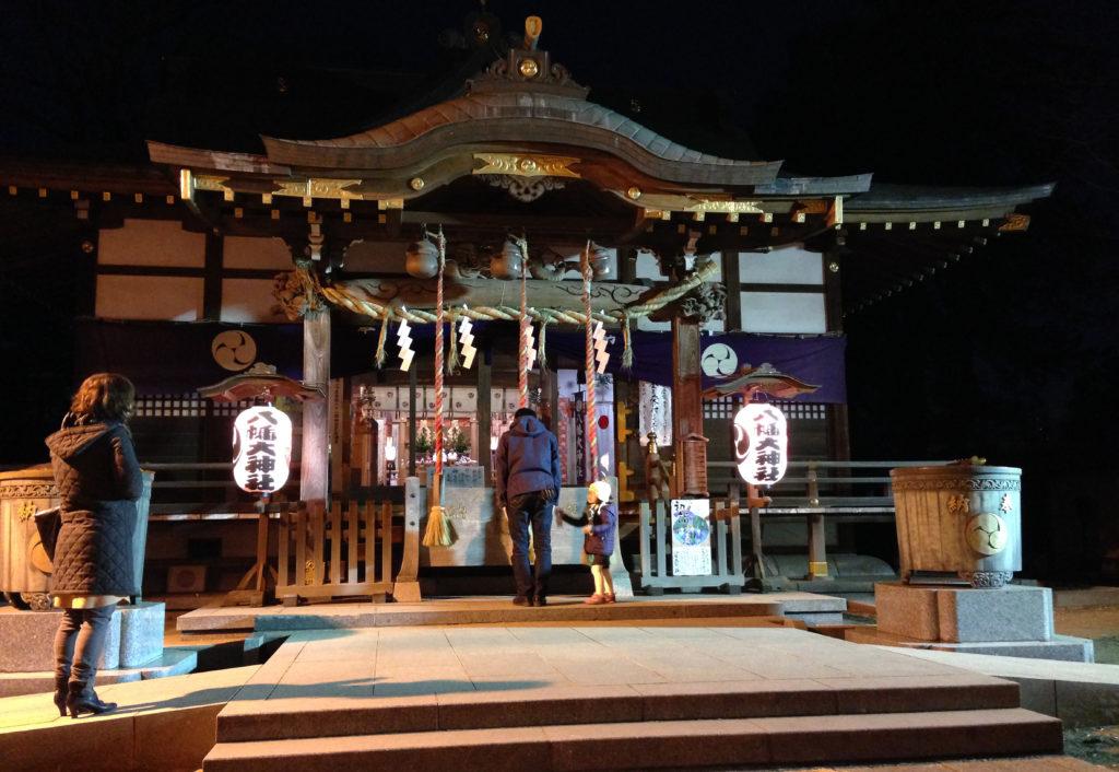 三鷹八幡大神社の拝殿