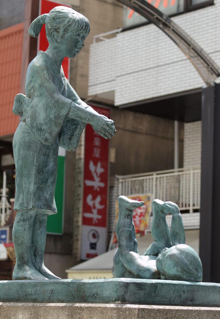 三鷹 モニュメント 赤とんぼの碑 三木露風