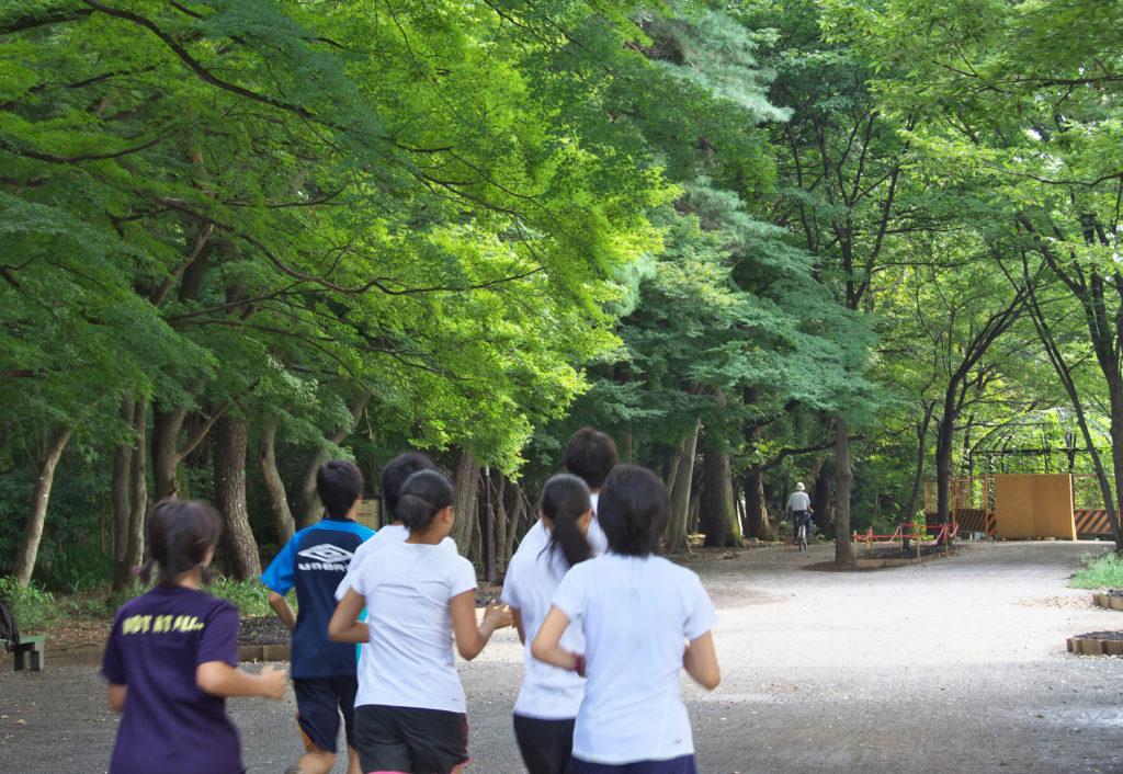 吉祥寺 井の頭公園 万助橋を渡るとすぐの西園入口