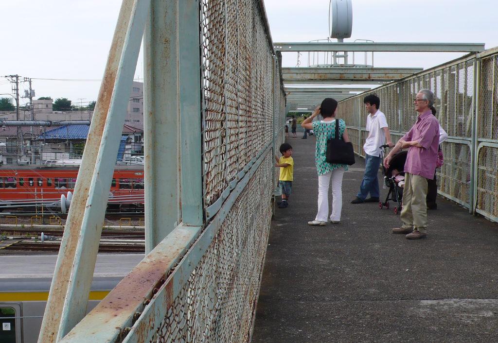三鷹陸橋 三鷹電車庫跨線橋