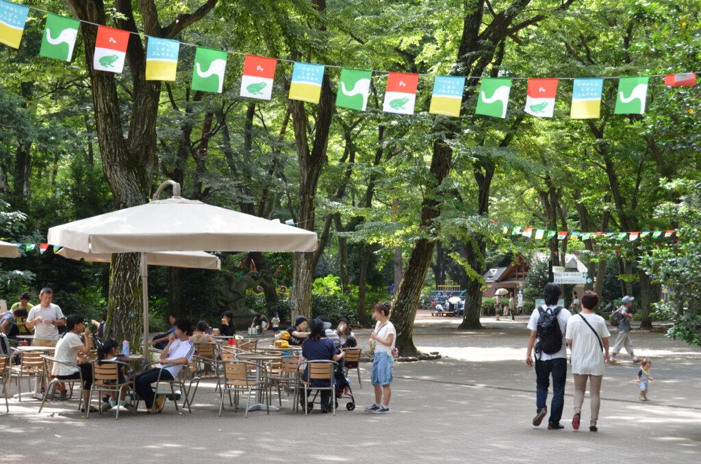 吉祥寺 井の頭自然文化園 自然の中の園内