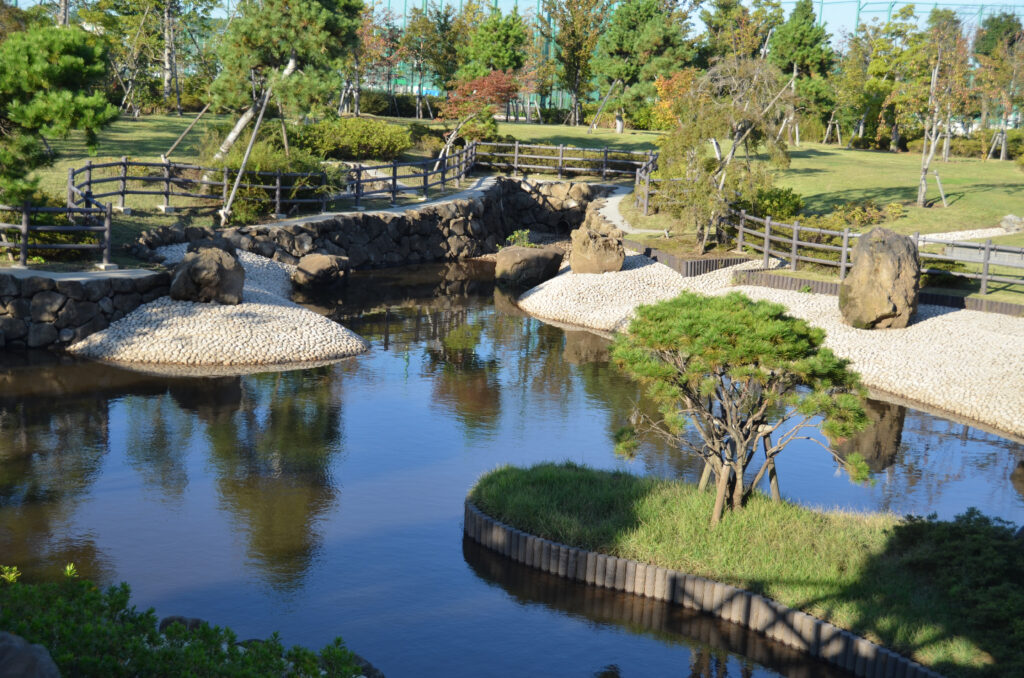 三鷹 武蔵野の森公園 修景池