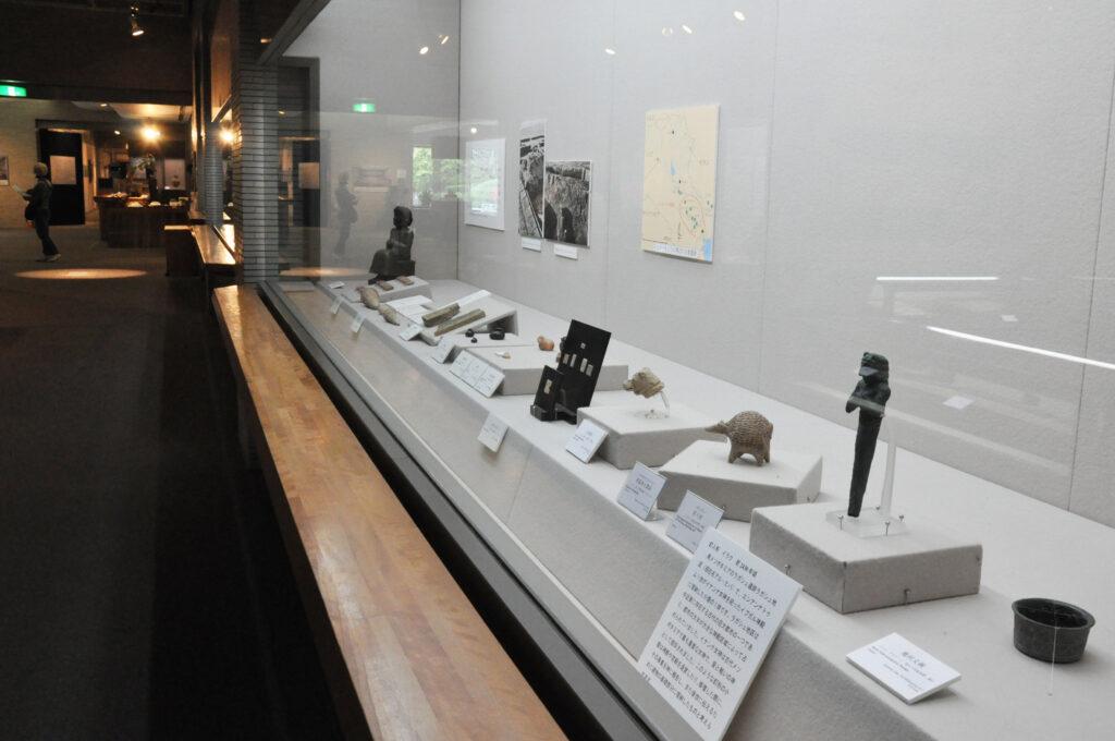 三鷹 中近東文化センター 紀元前3000年頃のシュメール展示コーナー