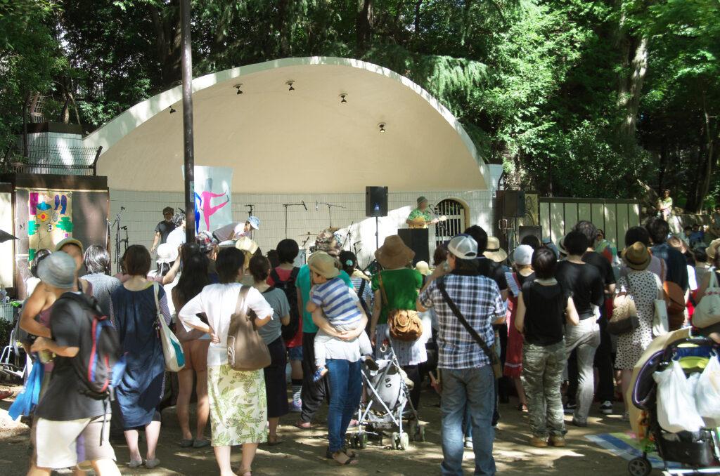 井の頭公園 屋外ステージ