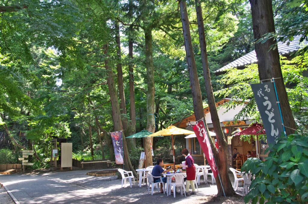 井の頭公園 昔からある食事処