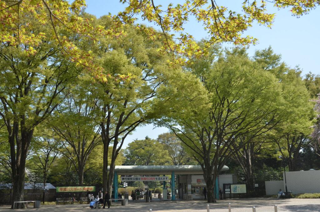 調布 神代植物公園・バラ園 神代植物園の正門