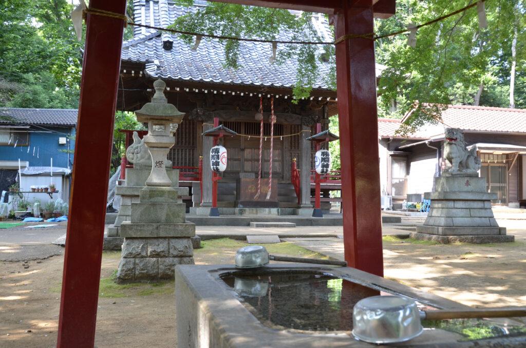 三鷹 勝渕神社・兜塚